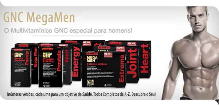 GNC mega men multivitaminico 90